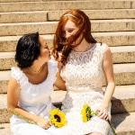 Kristen & Nicki's Intimate, Washington DC Courthouse Elopement
