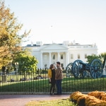 Katie & Ryan's Quintessential Washington DC Engagement Pictures