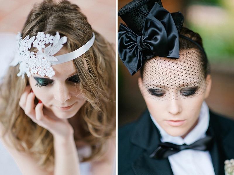 black white same sex goth wedding pictures (3)