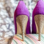 DIY Tutorial: How to Make DIY Glitter Heels for Shoes