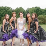Kat & Dave's 1950s, Rockabilly Wedding at National Marine Corps Heritage Museum in VA