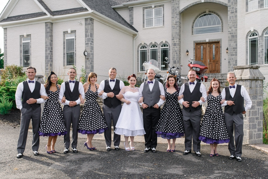 rockabilly rock and roll virginia wedding pictures (14)