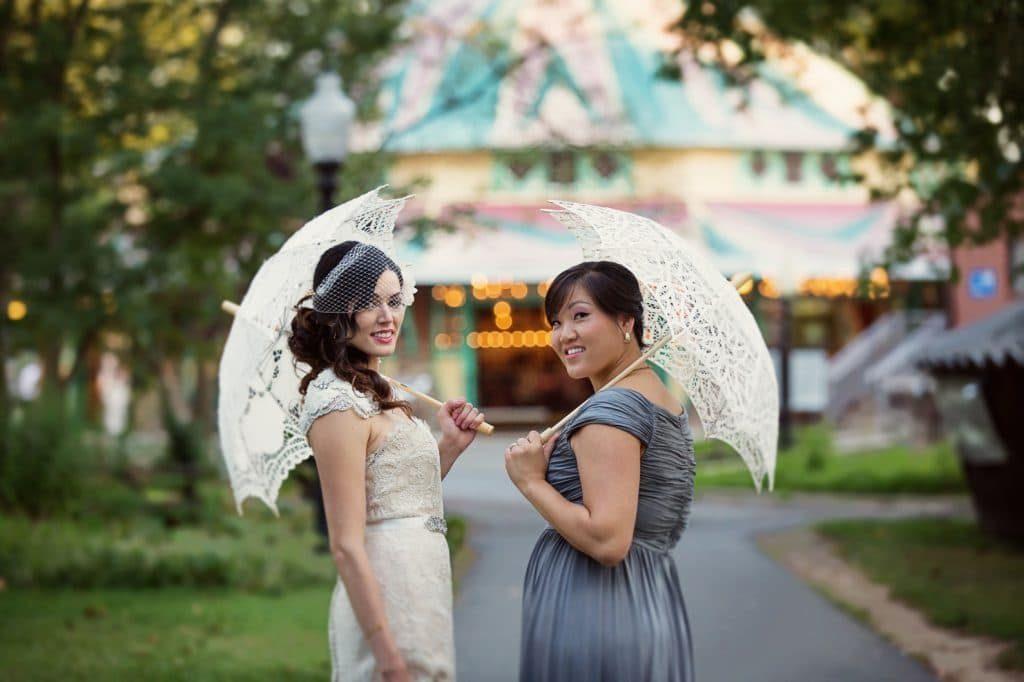 vintage DIY glen echo park wedding pictures (5)