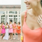 Kayte & Luke's Brightly Colored, DIY Newton House Mansion Wedding in Maryland
