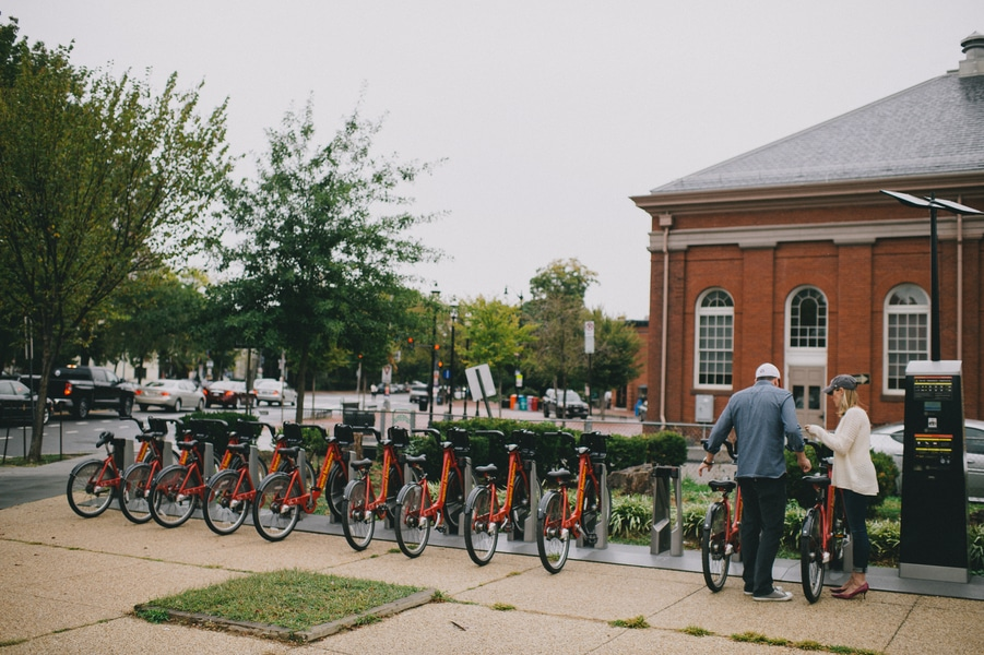 capital bikeshare eastern market engagement pictures in DC (2)