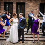 Sara & Matt's DIY, Modern Purple Whittemore House Wedding in Washington DC