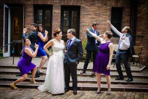 modern purple Jewish wedding Washington DC (15)