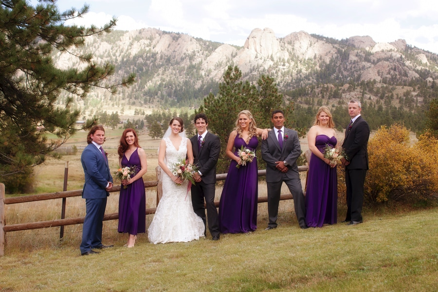 mountainside colorado wedding inspiration pictures flowers (8)