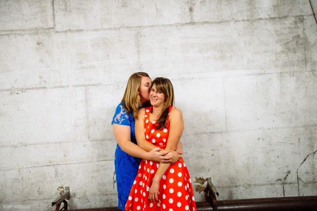 offbeat intimate washington dc wedding at brewery (21)