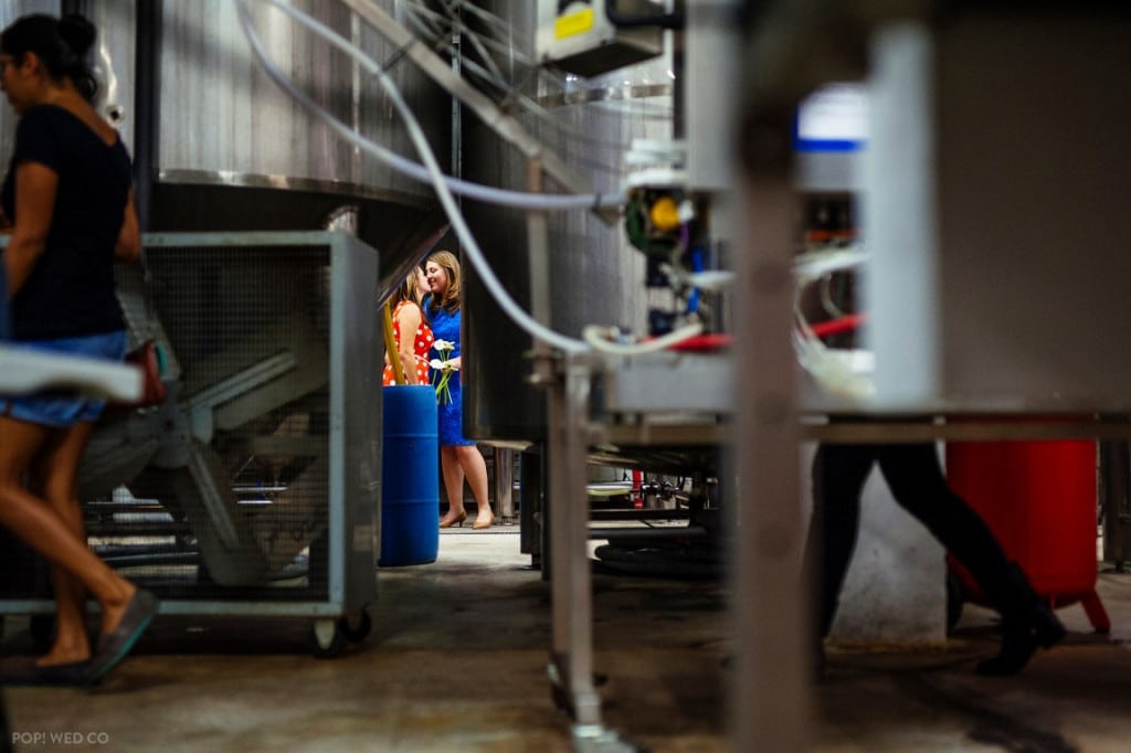 offbeat intimate washington dc wedding at brewery (7)