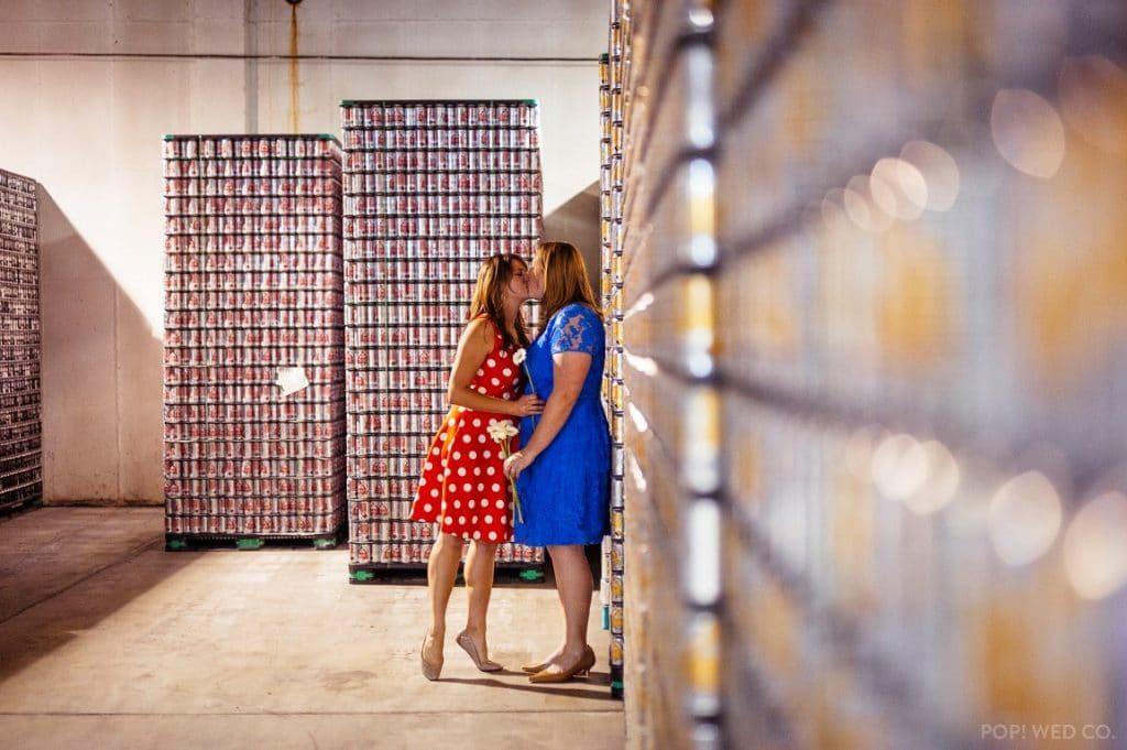 offbeat intimate washington dc wedding at brewery (8)
