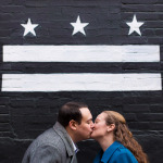 Allie & Elliot's U Street Engagement Pictures in Washington DC