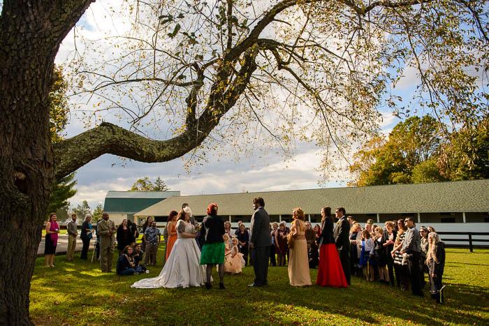 DIY offbeat maryland farm wedding pictures (15)