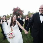 Melissa & Trent's Sparkling Gold Winery Wedding in Virginia