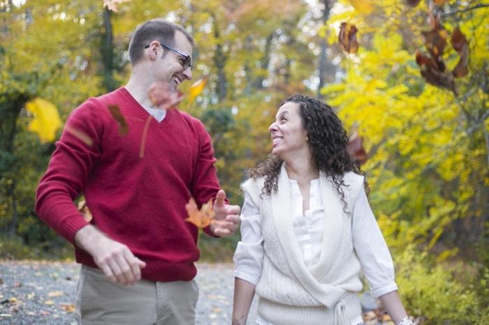 Fall engagement pictures Washington DC national arboretum (1)