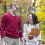Bradley & Jamilyah's Fall Engagement Pictures in DC at the National Arboretum