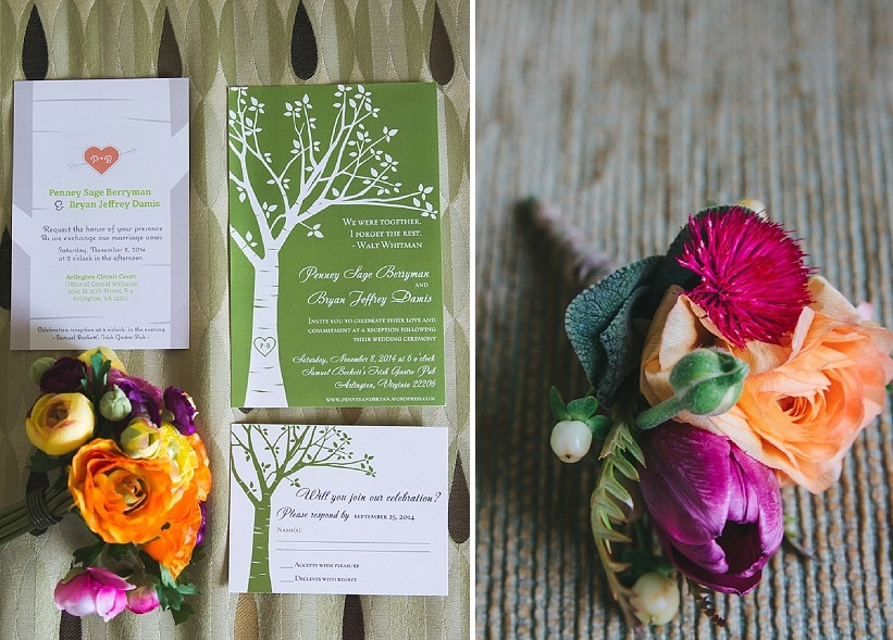 intimate small budget real Fall Virginia wedding (1)