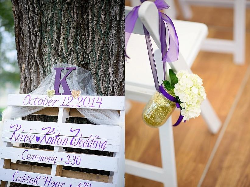 simple handmade purple wedding warrenton virginia (17)