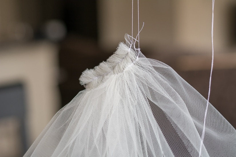 DIY Tutorial: How to Make Your Own Bridal Veil | Capitol Romance ...