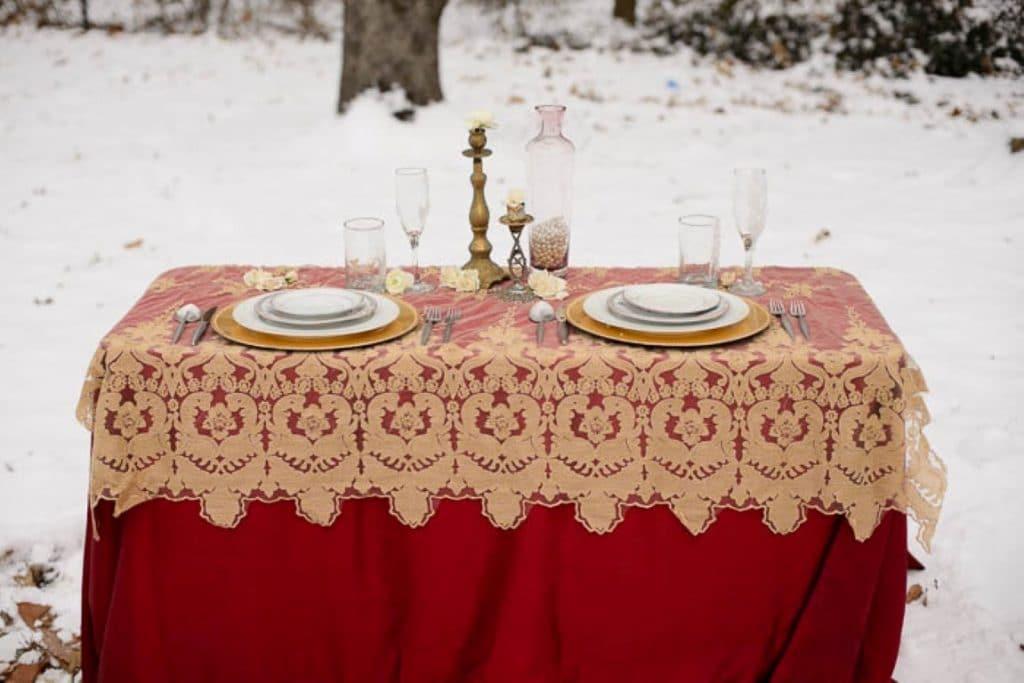 vintage gothic snow bridal inspiration pictures (14) (Medium)