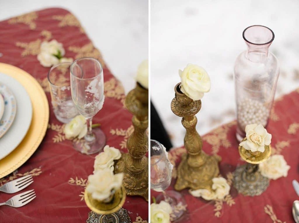 vintage gothic snow bridal inspiration pictures (7) (Medium)