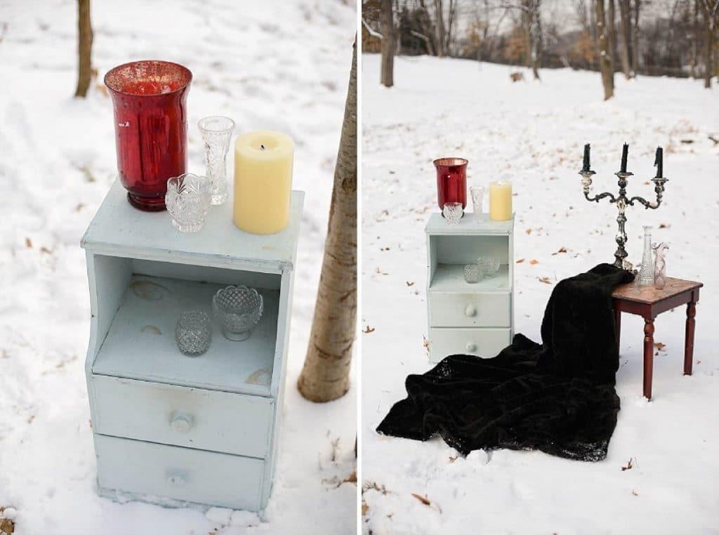 vintage gothic snow bridal inspiration pictures (8) (Medium)