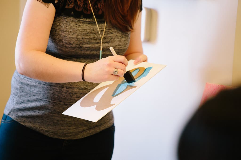 DIY canvas print workshop (14)