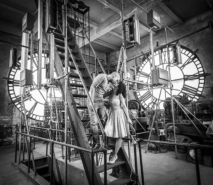 baltimore clocktower engagement pictures (2)