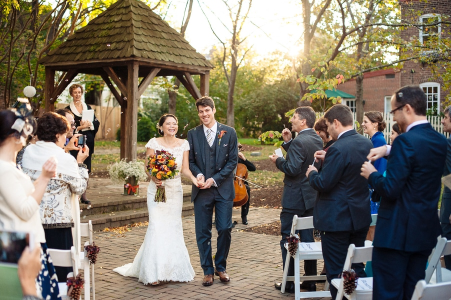 intimate Fall Old Town Alexandria Virginia wedding pictures (2)