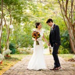 Maya & Lee's Intimate Old Town Alexandria Virginia Wedding in the Fall
