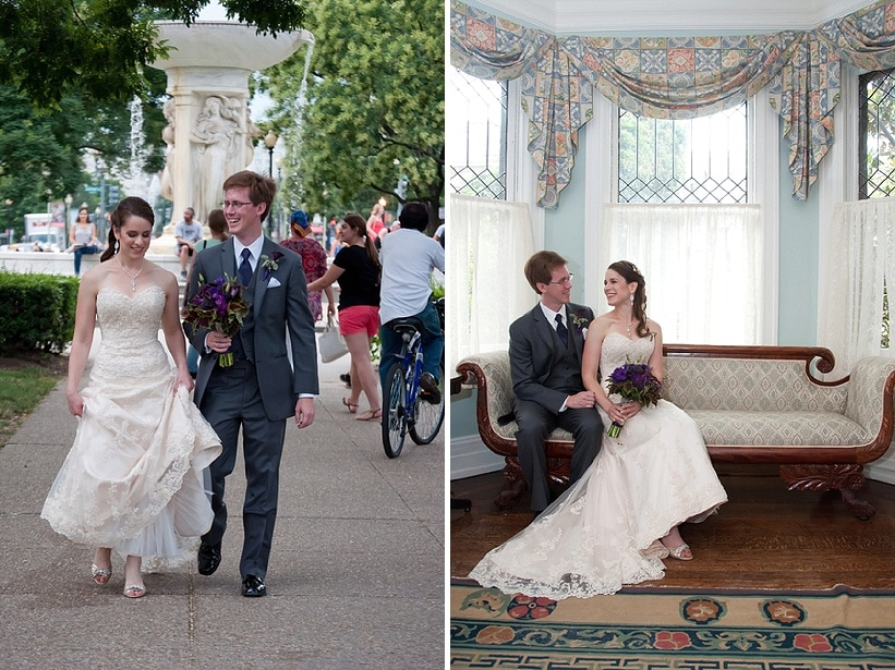 Hannah & Colin\'s DIY, DC Local Wedding at the Whittemore House ...