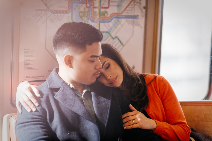 washington dc metro engagement pictures (1)