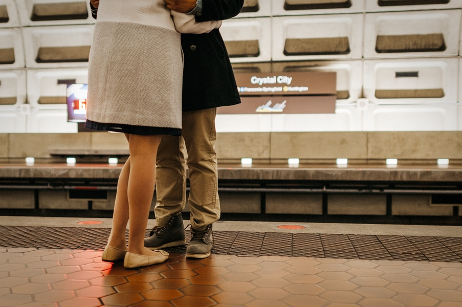 washington dc metro engagement pictures (4)