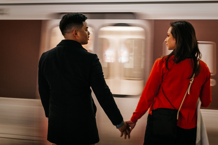 washington dc metro engagement pictures (6)