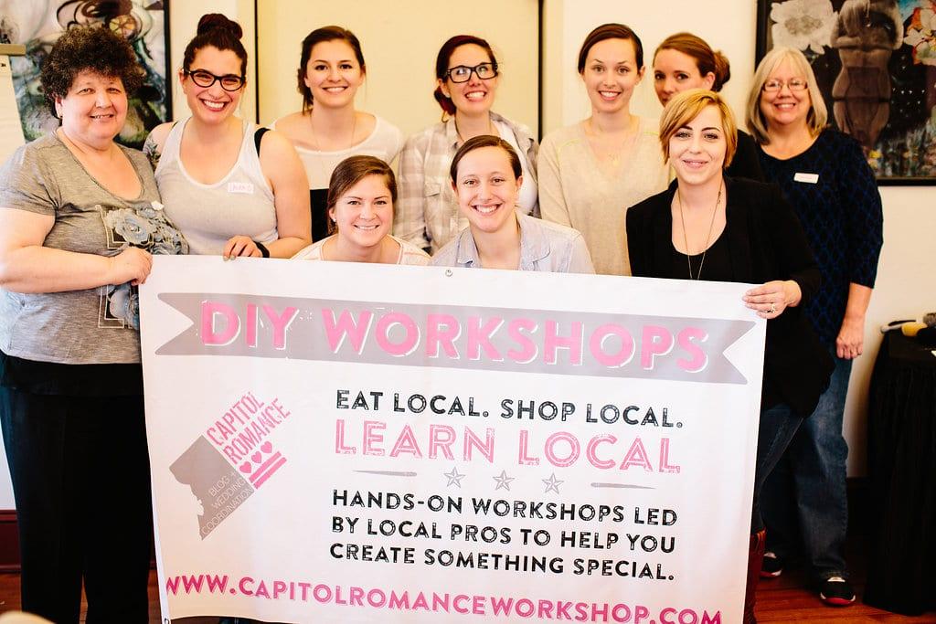 DIY Top Knots Workshop wedding workshops DC (1)