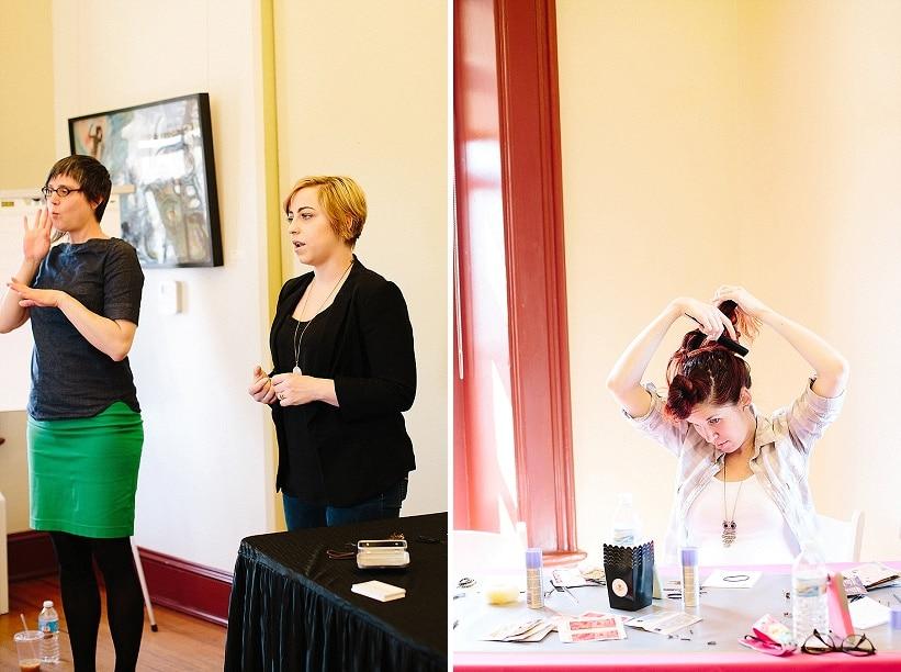 DIY Top Knots Workshop wedding workshops DC (7)