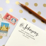 Giveaway: Custom Return Address Stamp from Pomp Creative