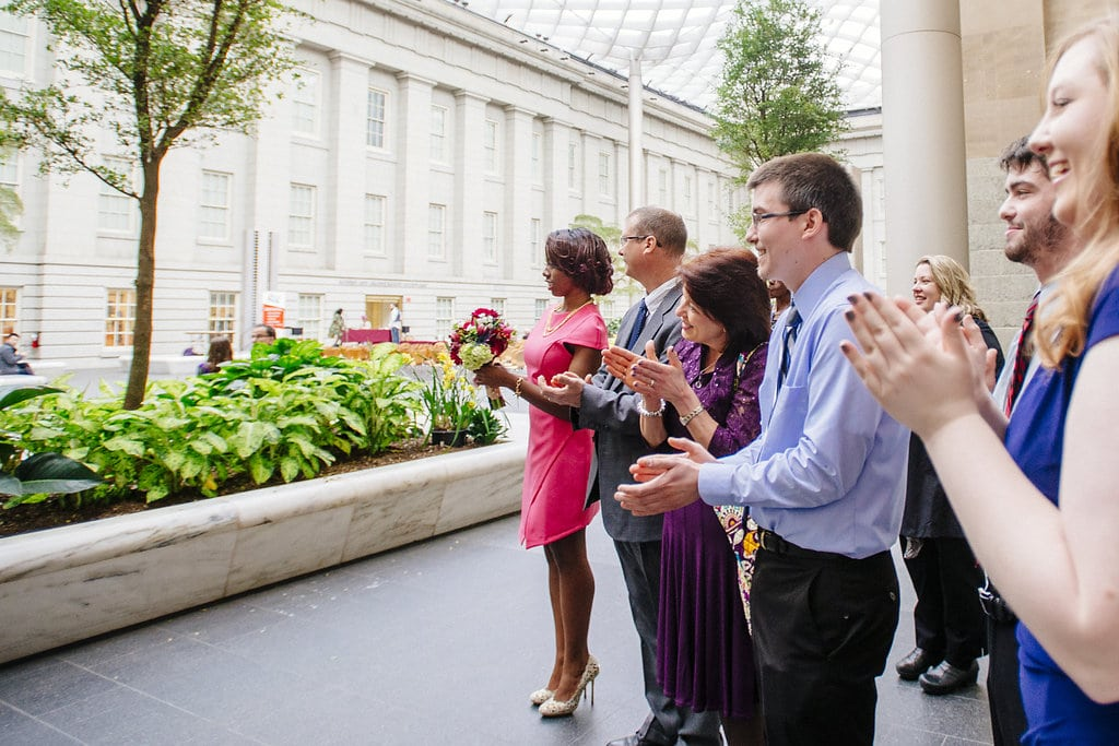 modern washington dc elopement pop up wedding pictures art gallery (19)