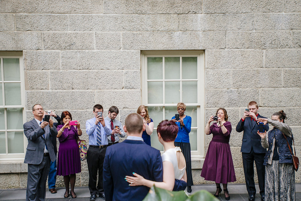 modern washington dc elopement pop up wedding pictures art gallery (20)