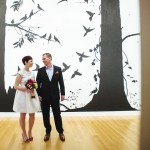 Taylor & Nate's Intimate Washington DC Pop Up Wedding at the National Portrait Gallery