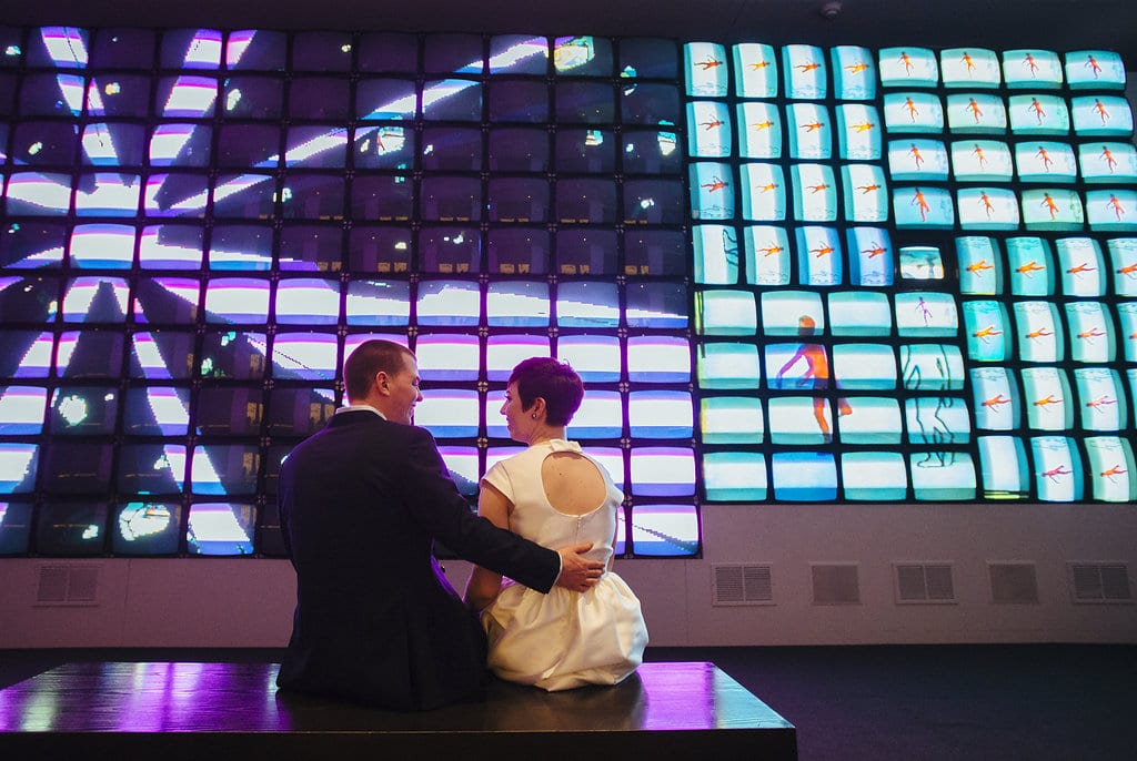modern washington dc elopement pop up wedding pictures art gallery (4)