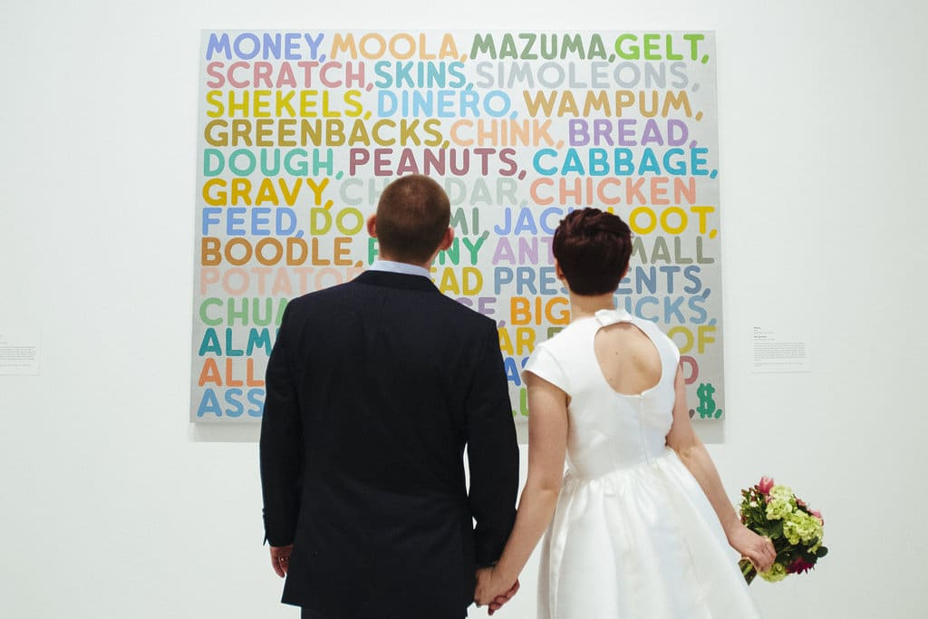 modern washington dc elopement pop up wedding pictures art gallery (6)