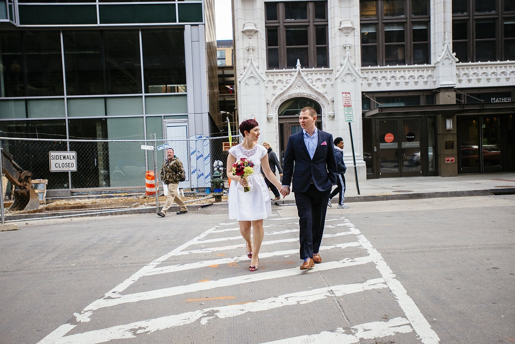 modern washington dc elopement pop up wedding pictures art gallery (7)