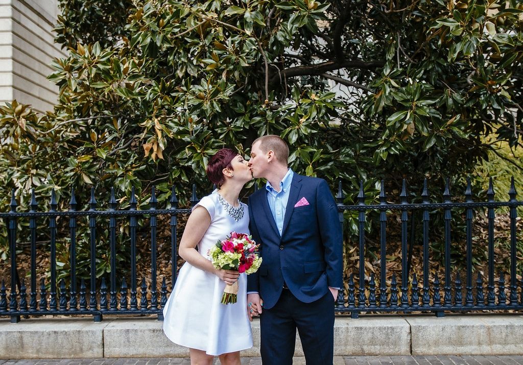 modern washington dc elopement pop up wedding pictures art gallery (9)