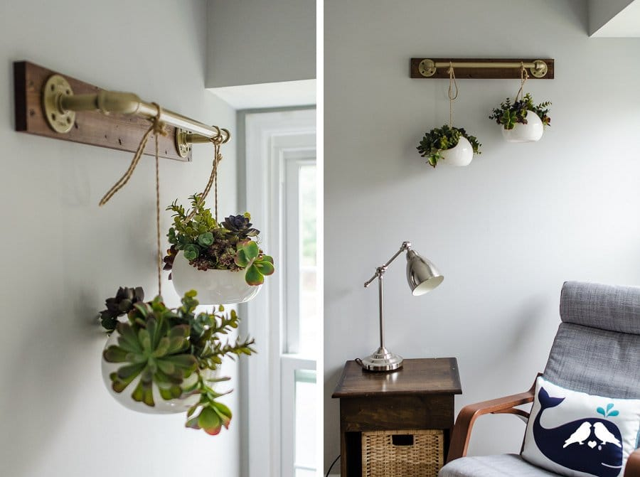 Diy Tutorial Indoor Plant Hanging Pipe Rail Capitol