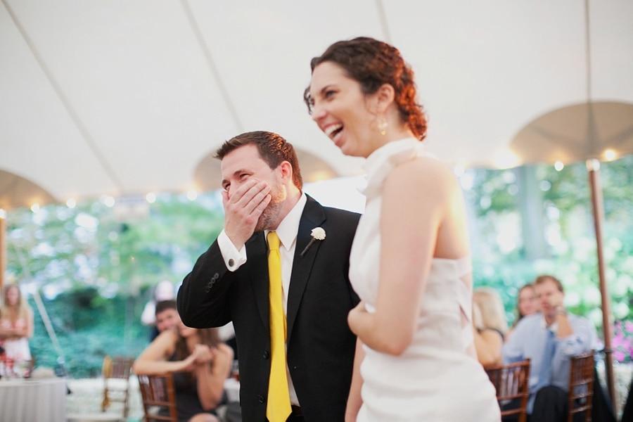 Allison + Mark; September 10, 2011; Keswick Vineyards
