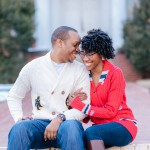 Tinita & Jerrod's College Rivalry Engagement Pictures in Maryland
