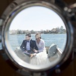 Caitlin & Michael's Intimate Maryland Wedding on a Boat