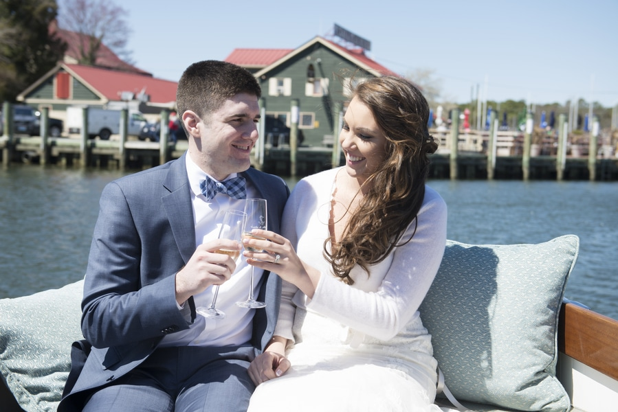 intimate maryland boat wedding (9)