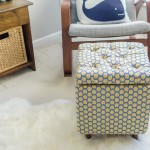 DIY Tutorial: How to Make a DIY Storage Ottoman – Part 1